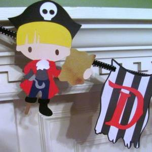 Pirate Birthday Banner with Persona..